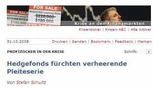 heutiger Ausriss aus Spiegel Online