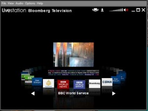 Screenshot von Livestation